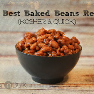 The Best Baked Beans Ever {Kosher and Quick!}