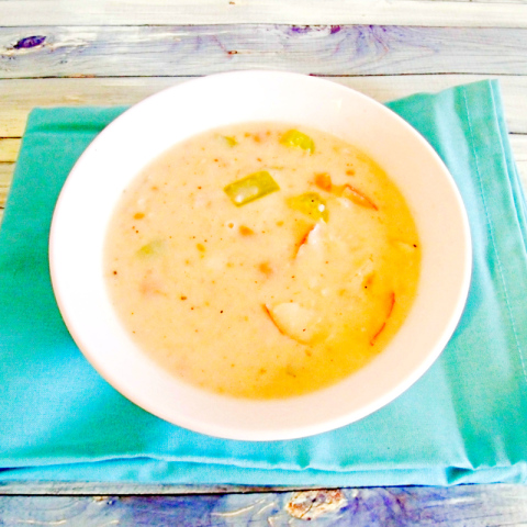 German Potato Soup with Horseradish