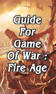 Guide for Game of War Fire Age - screenshot
