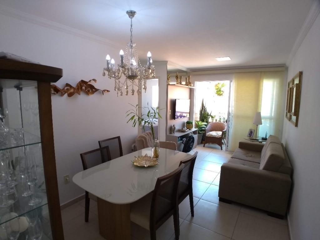 Apartamento com 2 dormitórios à venda, 58 m² por R$ 220.000 - Bessa - João Pessoa/PB