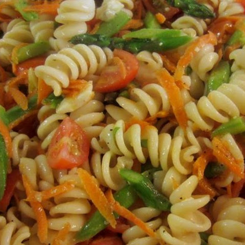 Whole Wheat Rotini Pasta Salad