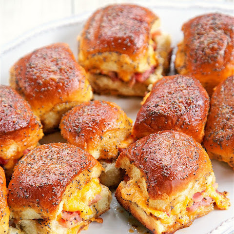 Hot Ham and Pimento Cheese Sandwiches