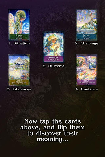 Mystical Oracle Cards - screenshot