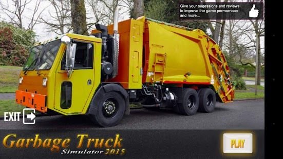 Garbage Truck Simulator 2016 - screenshot