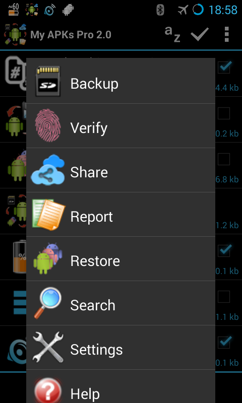 My APKs Pro backup manage apps Screenshot 1