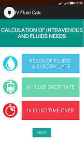 IV Fluid Calc - screenshot