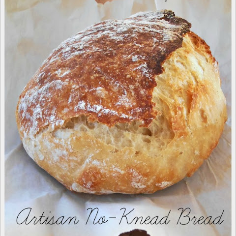 Artisan No-Knead Bread