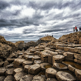 Giant's Causeway, Ireland by Angela Higgins - Landscapes Beaches