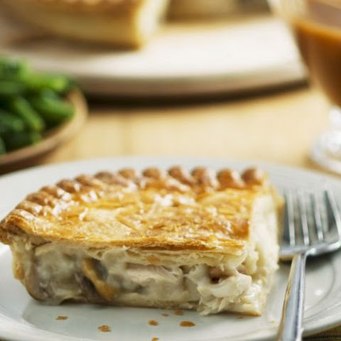 White Meat Puff Pastry Pie