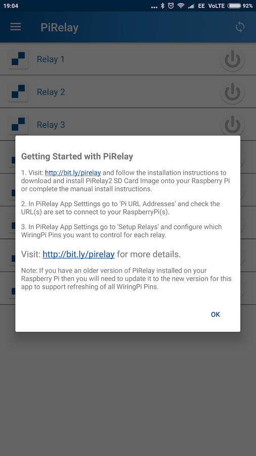 PiRelay - Raspberry Pi GPIO Screenshot 6