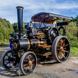 STEAM TRACTION by Roger Beverley - Transportation Other