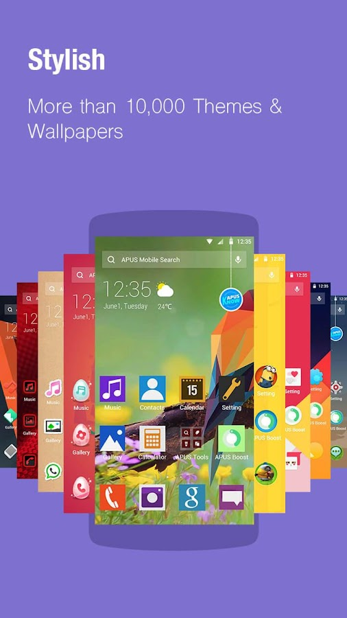 APUS Launcher-Theme, Wallpaper Screenshot 0