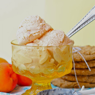 A Taste of Summer-Biscoff Apricot Ice Cream Sandwiches