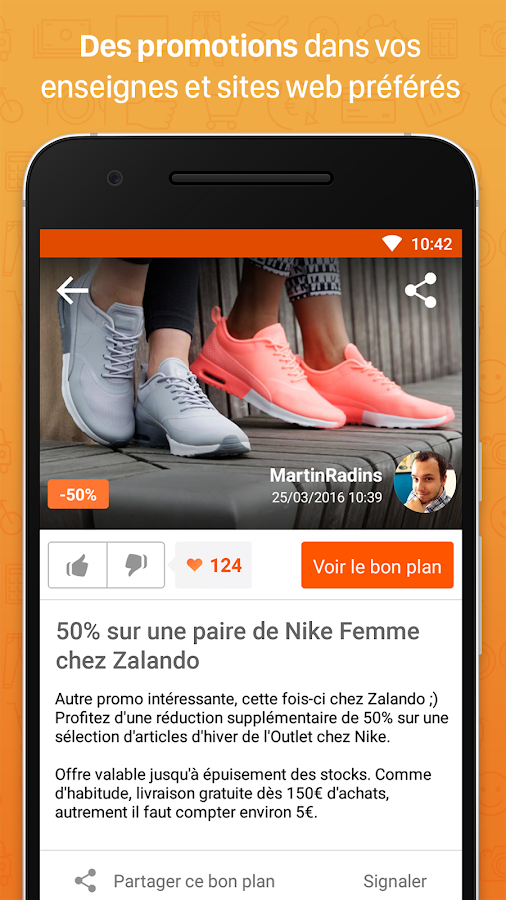 Radins.com – Mes bons plans Screenshot 1
