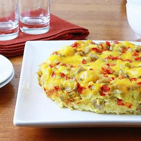 Overnight Slow-Cooker Egg Bake