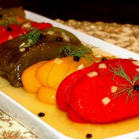 Preserved Sweet Pepper With Spicy Seasoning
