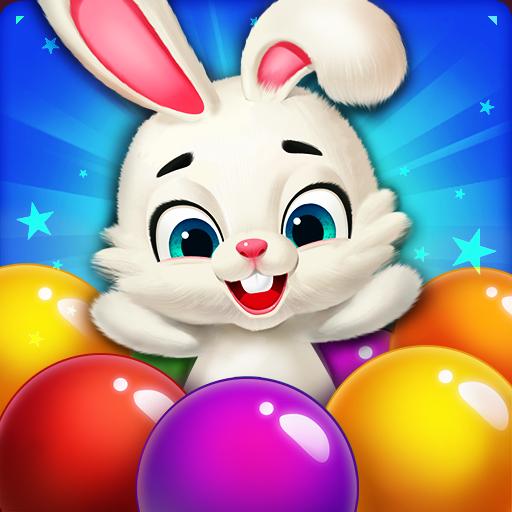 Rabbit Pop- Bubble Mania (game)
