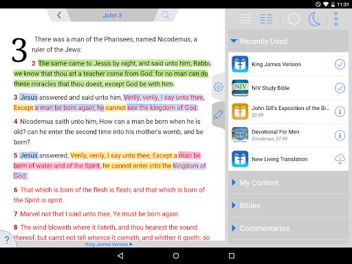 NLT Bible - screenshot