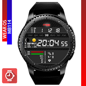 MB114 Watchface for Wear OS & Tizen For PC / Windows 7/8/10 / Mac – Free Download