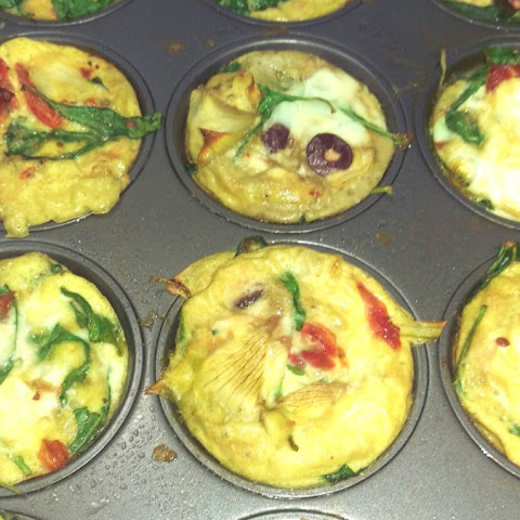 Grab-and-Go Greek Egg Cups