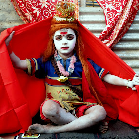 The Lord by Anumita Das - Novices Only Street & Candid ( child, god, shiva )