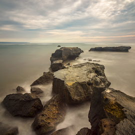 Rocks by Ade Noverzan - Landscapes Waterscapes ( waves, beach, rocks )