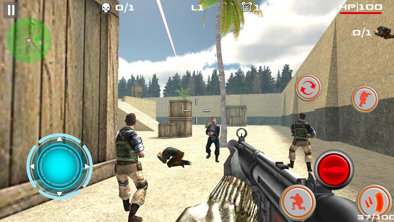 Killer Shooter Critical Strike Screenshot 0
