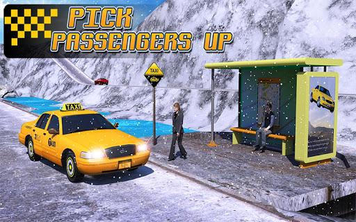 Taxi Driver 3D : Hill Station screenshot 7