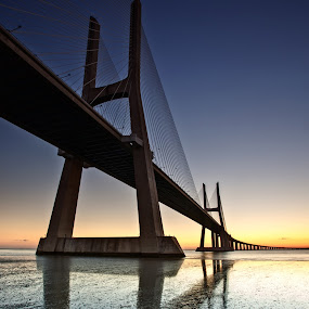 Vasco De Gamma Bridge by Brens Photo's - Buildings & Architecture Bridges & Suspended Structures