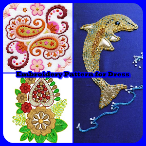Embroidery Pattern for Dress