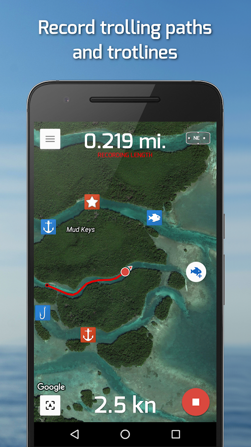 Fishing Points: GPS & Forecast Screenshot 6