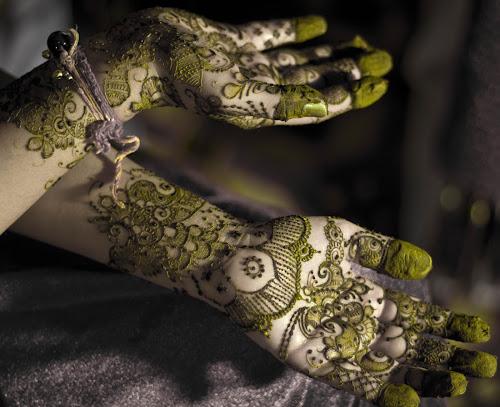 Mehendi (Indian Ritual) by Ashish Jain - Wedding Details