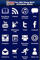 Screenshot of WDW Radio