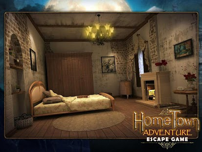 Escape game:home town adventure