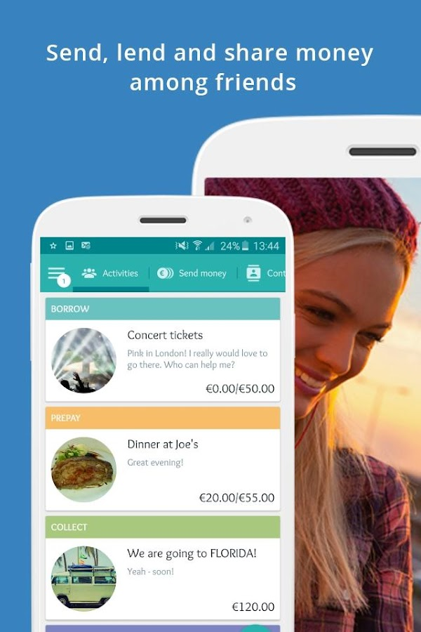 Lendstar – Send & share money Screenshot 0