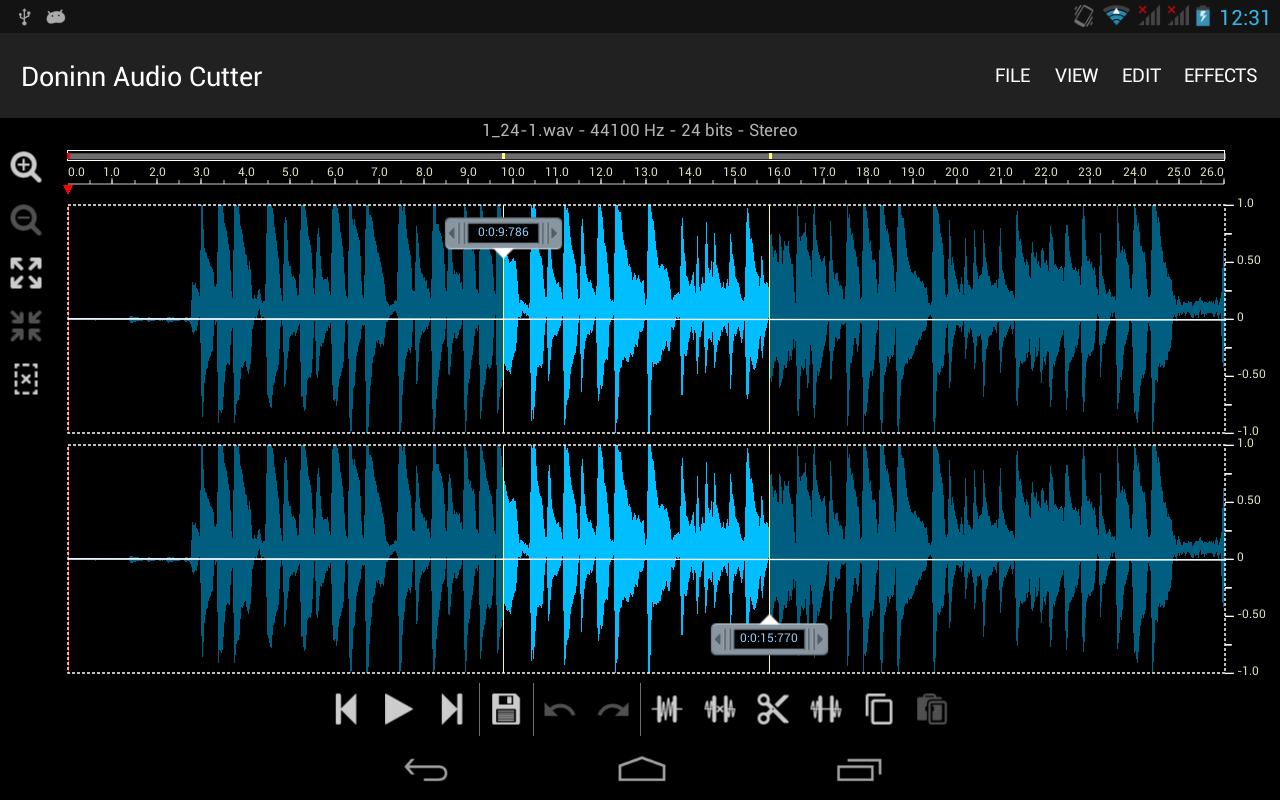 Doninn Audio Cutter Free Screenshot 12