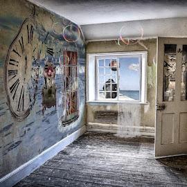 The Playroom. by Katherine Rynor - Digital Art Things ( wall art, art, surreal, room )