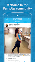 Screenshot of PumpUp — Fitness Community