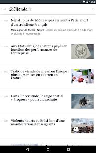 Free Download Le Monde, l'info en continu APK for Samsung