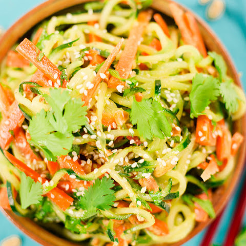 Thai Carrot And Cucumber Noodle Salad