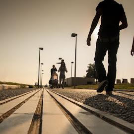 Lines by Tasos Triantafyllou - City,  Street & Park  Street Scenes ( colore, pic, photo )
