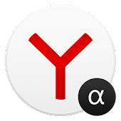 APK App Yandex Browser Alpha for iOS