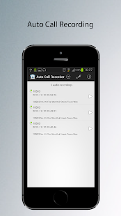 Auto Phone Call Recorder - screenshot