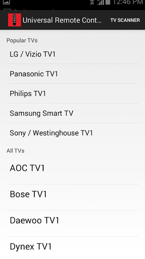 Universal Remote Control P Screenshot 4