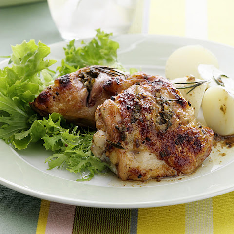 Chicken Stuffed with Capers, Anchovies and Rosemary