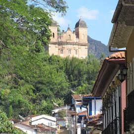 Mariana before the catastrophe by Marina Gallo - City,  Street & Park  Historic Districts ( brazil, historic town, minas gerais )