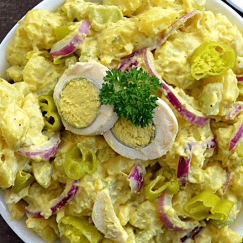 Try This Spicy Texas Potato Salad Recipe For Your Next Cookout