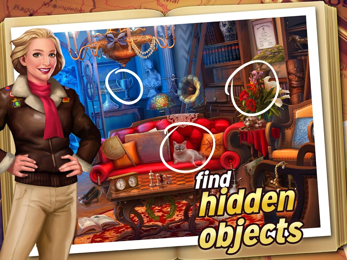 Pearl's Peril: Hidden Object Screenshot 5
