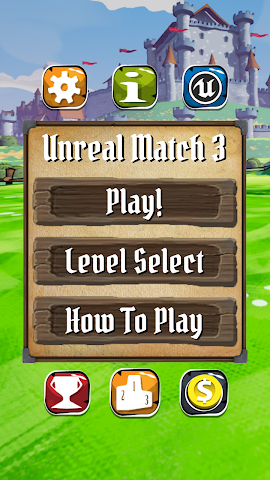 android Unreal Match 3 Screenshot 1