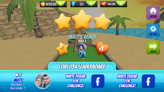 Game Mini Golf Stars 2 apk for kindle fire